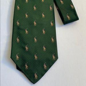 Vintage Polo Tie